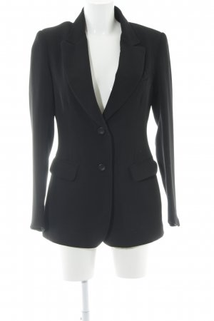 Hennes Collection by H&M Long-Blazer schwarz Business-Look