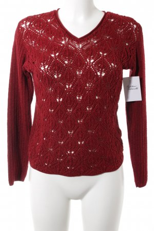 Hennes Collection by H&M Strickpullover rot Casual-Look