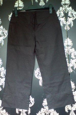 HENNES Hose, 7/8 Länge, lockeres Bein, Farbe: Schwarz, Größe: 36