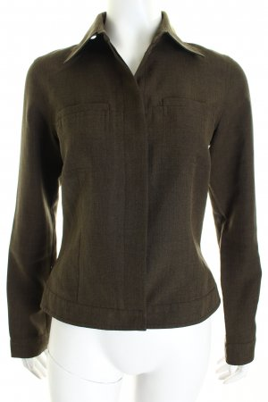 Hennes Jacke dunkelgrün schlichter Stil