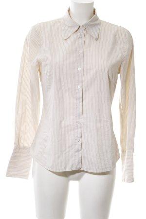 Hennes Langarmhemd wollweiß Streifenmuster Business-Look