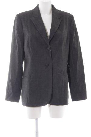 Hennes Long-Blazer dunkelgrau schlichter Stil