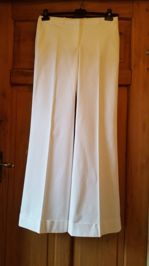 Hennes Collection by H&M Marlene Trousers white cotton