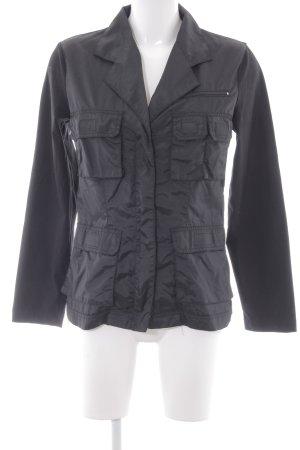 Hennes Übergangsjacke schwarz Casual-Look