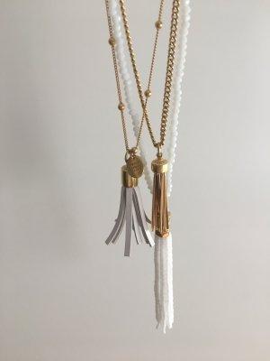 HENRI BENDEL Kette Pendant weiß gold