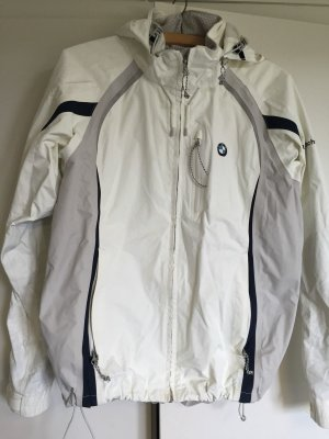 Henri Lloyd BMW Oracle Racing Jacke Damen Yachtsport 38 M Weiß Grau Segeljacke