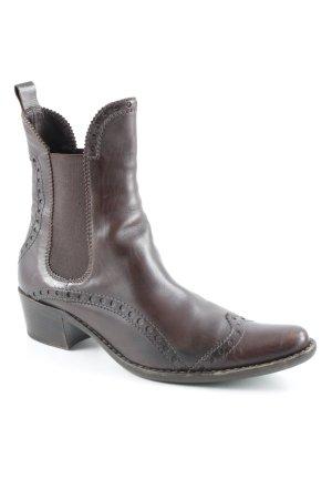 Henry Beguelin Chelsea Boot brun-gris brun style décontracté