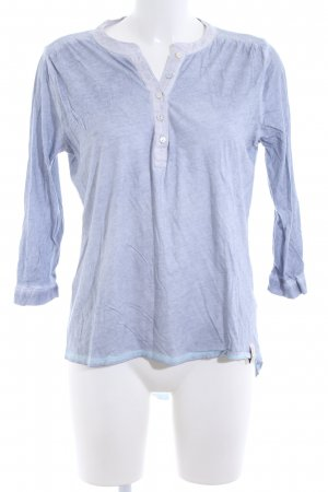 Henry Christ Shirttunika blau Casual-Look