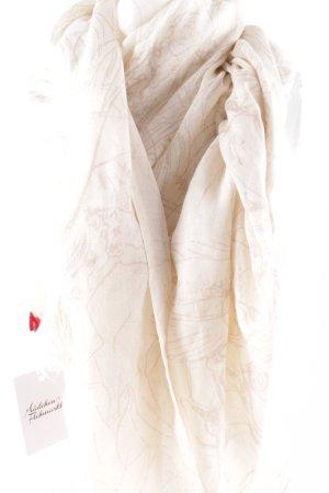Henry Christ Sommerschal creme-beige abstraktes Muster Casual-Look
