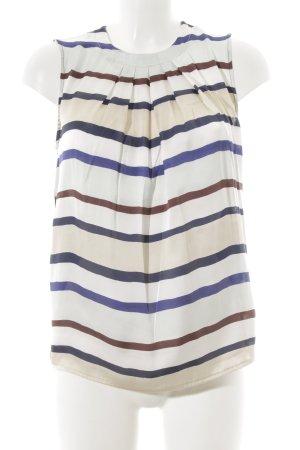Henry Cotton's ärmellose Bluse Streifenmuster schlichter Stil