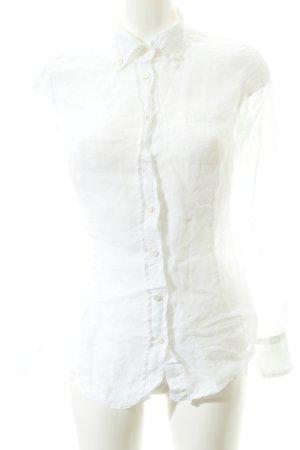 Henry Cotton's Hemd-Bluse wollweiß klassischer Stil