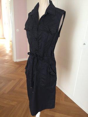 Henry Cotton´s Kleid, knielang, dunkelblau, Gr.36