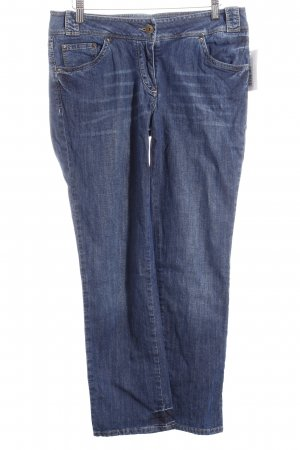 Henry Cotton's Slim Jeans blau Casual-Look