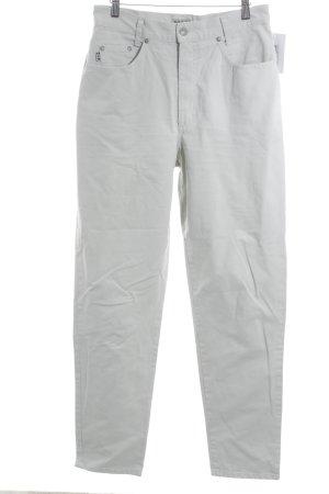 Henry J. Siegel Low-Rise Trousers oatmeal casual look