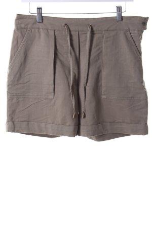 Henry J. Siegel Shorts olivgrün Casual-Look