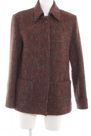 HENRY WHITE IRELAND Chaqueta de lana rojo look casual