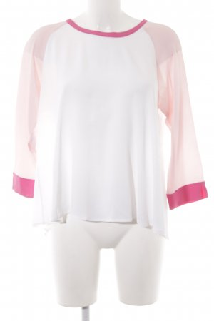 her Shirt Langarm-Bluse Colourblocking Business-Look