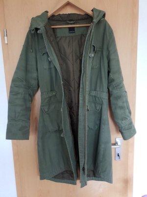 Amisu Long Jacket olive green