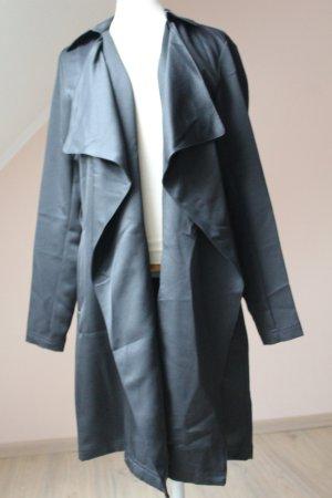 Herbst Cardigan Mantel schwarz neu Gr.38 Basic