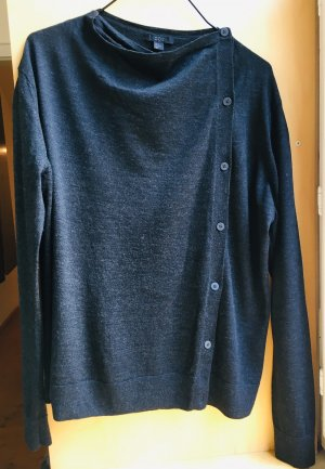 COS Pull oversize gris anthracite laine mérinos