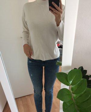 Herbst Pullover beige