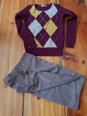 3 Suisses Sweater Twin Set multicolored