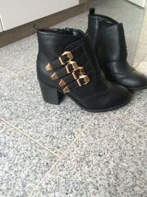 Herbst Stiefel in schwarz