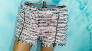 Herbst  Trend Boucle Shorts mit Glitzerkette u Steine H&M Gr M 38