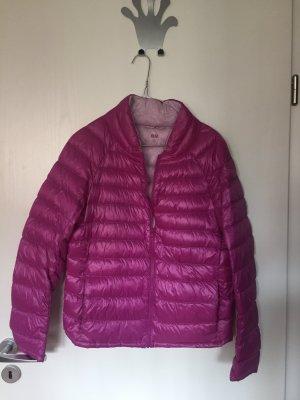 Herbst Winter Daunen Jacke Uniqlo pink M leicht und warm