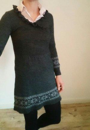 Herbst/Winter Strickkleid 34 Wolle