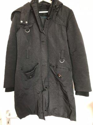 Vero Moda Winter Jacket black cotton