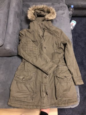 Montego Long Jacket khaki