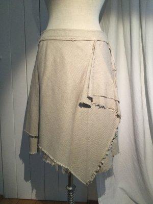 MNG Wraparound Skirt multicolored cotton