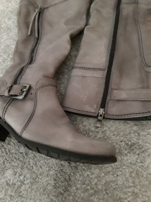 Marco Tozzi Heel Boots silver-colored-light grey
