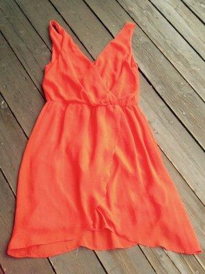 H&M Abito arancione Poliestere