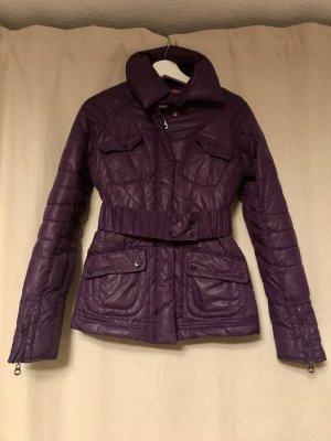 Silvian heach Down Jacket dark violet