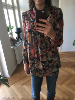 Herbstliche Bluse Long Oversized Only