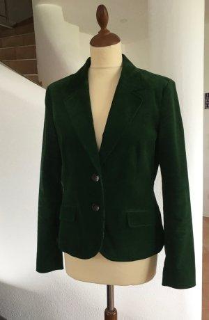 Herbstlicher Blazer in Grün Cord von Montego Gr. 38 wie NEU