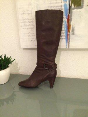 Herbstlicher, eleganter Stiefel von Lloyd Leder Braun Gr. 40