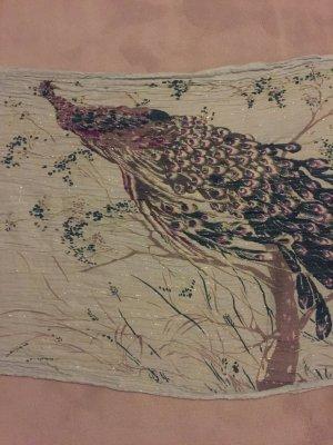 Herbstlicher Schal mit Lurex