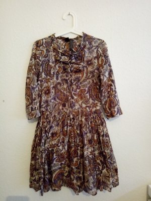 Mango Hippie Dress multicolored