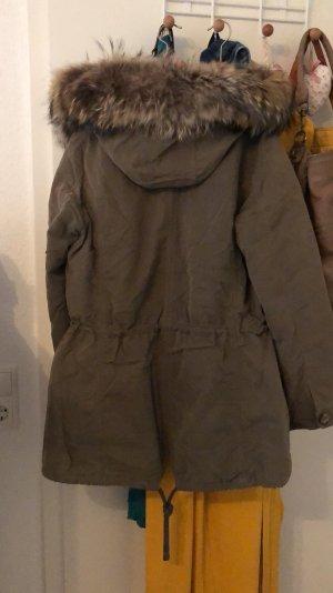 IQ women Hooded Coat khaki