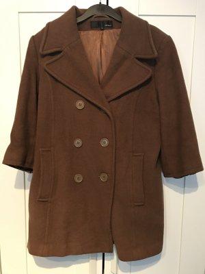 Hennes Manteau court brun