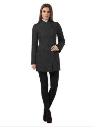 Gewatteerde jas zwart Polyester