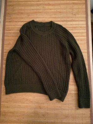 Oversized trui veelkleurig
