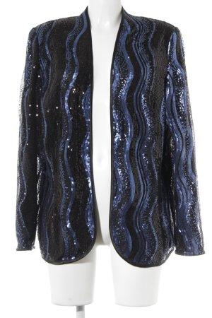Hermann Lange Veste chemisier noir style extravagant