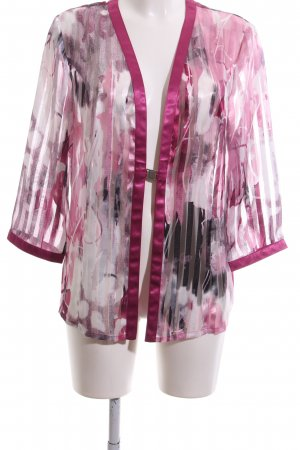 Hermann Lange Kimono abstraktes Muster Elegant