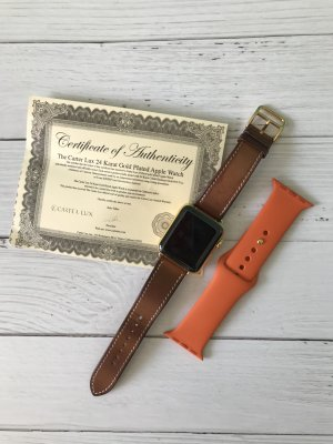 Hermes Apple Watch 2 vergoldet 38mm