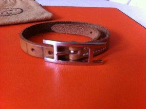 Hermès Armband Hapi Hellbraun