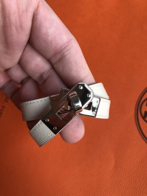 Hermès Armband Leder Kelly Double Tour